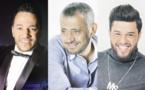 Georges Wassouf, Mohamed Al Salem et Hussein El Deek en concert au Festival Mawazine