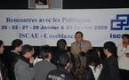 Habib El Malki devant les étudiants de l'ISCAE