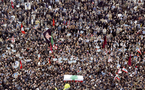 Rassemblement monstre pour commémorer l'assassinat de l'ex-Premier ministre