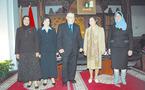 Hommage de Abdelouahed Radi à la femme magistrat
