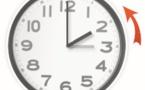 Retour à l'heure GMT