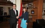 Abdelkrim Benatiq reçoit les ambassadeurs d'Australie et de Chine