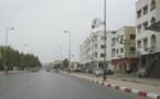 """Le chemin de """"l'école"""" en plein été à Témara"""