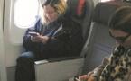 Madonna voyage en classe économique
