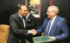 Habib El Malki s'entretient avec le président du Parlement de Wallonie