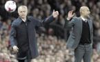 Derby de Manchester : Célébrations pas exagérées selon Guardiola, question d'éducation pour Mourinho