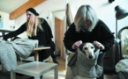 Milan, capitale de l'élégance également pour les chiens