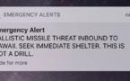 Une fausse alerte au missile balistique sème la confusion à Hawaï