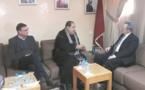 Le Premier secrétaire de l'USFP reçoit l'ambassadeur de Belgique