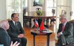 Habib El Malki reçu à Santiago du Chili par le Président Sebastián Piñera
