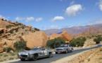 La course bat son plein à la 4ème étape du Rallye Maroc Classic