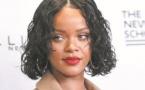 Des stars dans le rouge : Rihanna