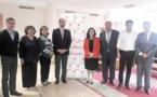 Driss Lachguar reçoit Maya Fernandez Allende