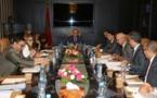 Réunion du président de la Chambre des représentants avec le groupe de travail thématique chargé d'évaluer les politiques publiques