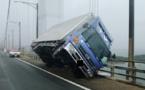 Des morts et des blessés après le passage du typhon Jebi au Japon