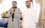 Visite de travail de S.M le Roi aux Emirats Arabes Unis