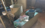 Démantèlement d'un atelier clandestin de fabrication de sacs en plastique