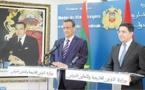 Le chef de la diplomatie marocaine s'entretient avec son homologue mauritanien