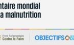 Participation marocaine au Sommet parlementaire mondial contre la faim et la malnutrition