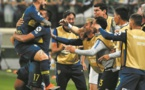 "Le ""superclasico"" argentin Boca-River en finale de la Copa Libertadores"