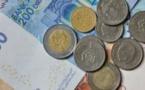 Le dirham s'apprécie par rapport à l'euro et se déprécie vis-à-vis du dollar
