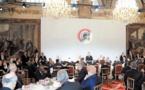 S.M le Roi prend part au déjeuner offert par Emmanuel Macron à l'occasion du centenaire de l'Armistice