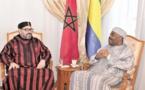 Le Souverain rend visite au Président gabonais