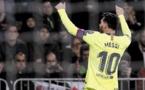 Liga: Messi poursuit son récital à Levante