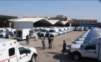 22 ambulances équipées remises à des hôpitaux et à la Protection civile