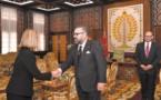 Federica Moghrerini reçue en audience par S.M le Roi Mohammed VI