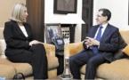 Le chef du gouvernement s'entretient avec la Haute représentante de l'UE pour les Affaires étrangères et la Politique de sécurité