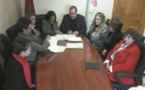 Driss Lachguar reçoit Khadija Rebbah