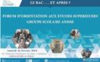 Forum d'orientation aux études supérieures du Groupe scolaire Anisse