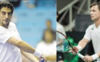 Epreuve lituanienne pour l'équipe du Maroc de Coupe Davis