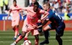 Liga: Barcelone avait la tête à l'Europe