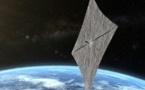 Test imminent d'une voile solaire pour voguer parmi les étoiles