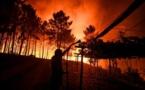 Mobilisation exceptionnelle pour lutter contre un vaste incendie au Portugal