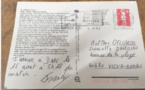 Insolite : Une carte postale arrive à destination 26 ans après