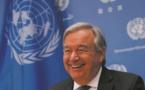 Le chef de l'ONU dans la lumière pour le climat, dans l'ombre pour les conflits