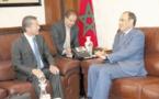 Habib El Malki s'entretient avec l'ambassadeur non résident de Singapour
