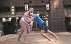Djokovic s'essaie au sumo