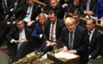Brexit : La crise relancée après le camouflet subi par Johnson au Parlement
