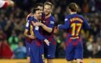 Liga : Le Barça cartonne et le Real assure