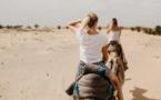 Insolite : Chute en chameau