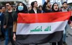 """Des Irakiens manifestent pour le """"candidat du peuple"""" au poste de Premier ministre"""