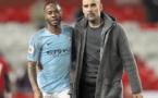 Guardiola et Sterling resteront à City même sans Coupe d'Europe