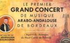 Grand concert de musique arabo-andalouse à Bordeaux