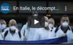En Italie, le décompte macabre ralentit un peu