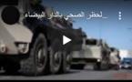 Tournée avec les forces militaires pour imposer l'embargo
