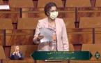 Fatiha Seddas au nom du Groupe socialiste à la Chambre des représentants